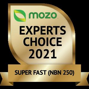 mozo award logo